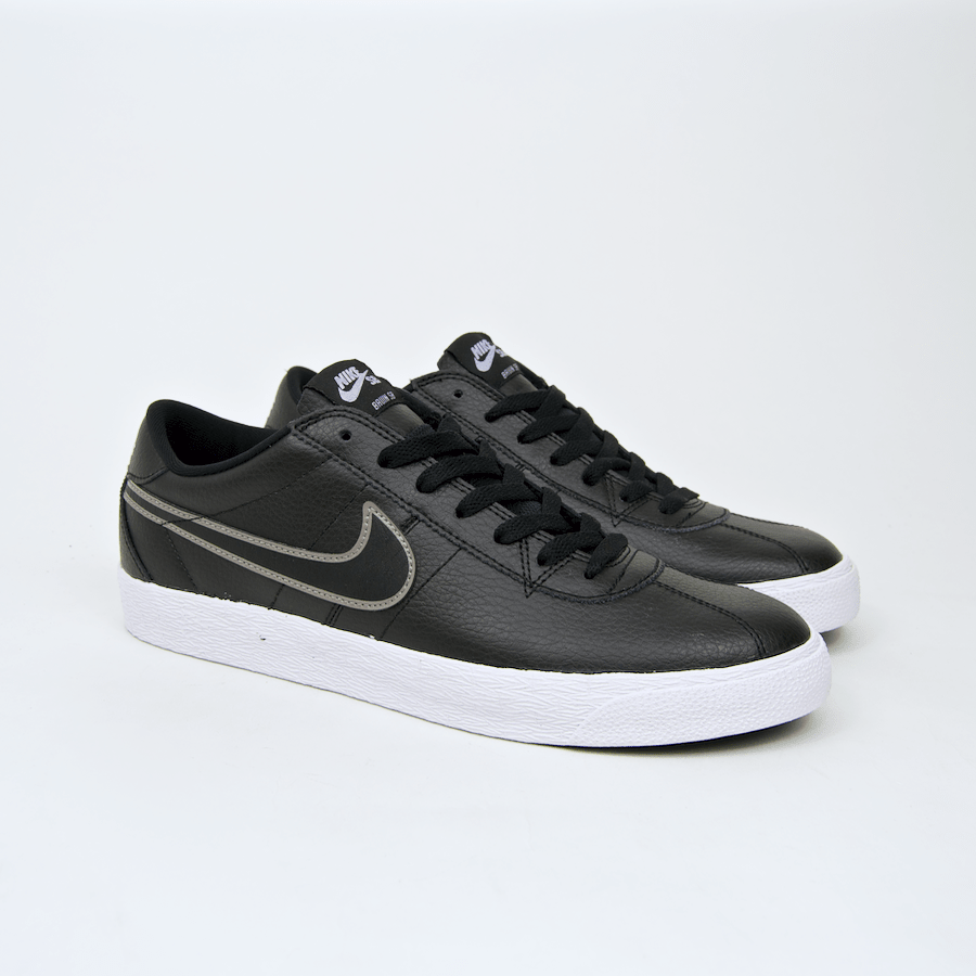separation shoes 0127d 94a5d ... Nike SB - Bruin Premium SE Shoes - Black   Black   Metallic Pewter ...