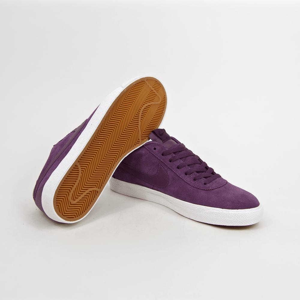 Nike SB - Bruin Premium SE Shoes - Pro Purple / White
