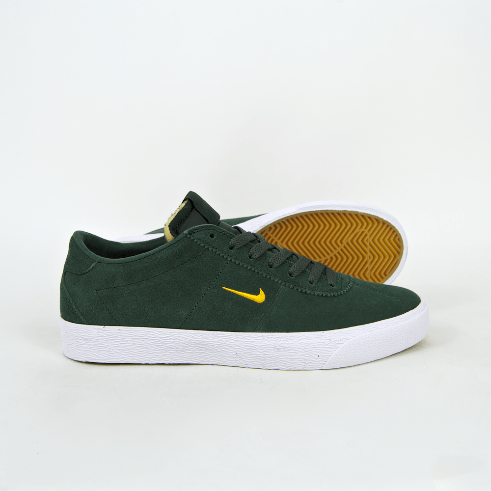 c7ba64006677 ... Nike SB Bruin Ultra Shoes - Midnight Green   Yellow Ochre   White ...