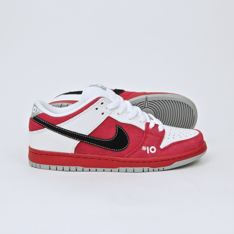 Nike SB   Dunk Low Premium SB  Roller Derby  Shoes   Varsity Red
