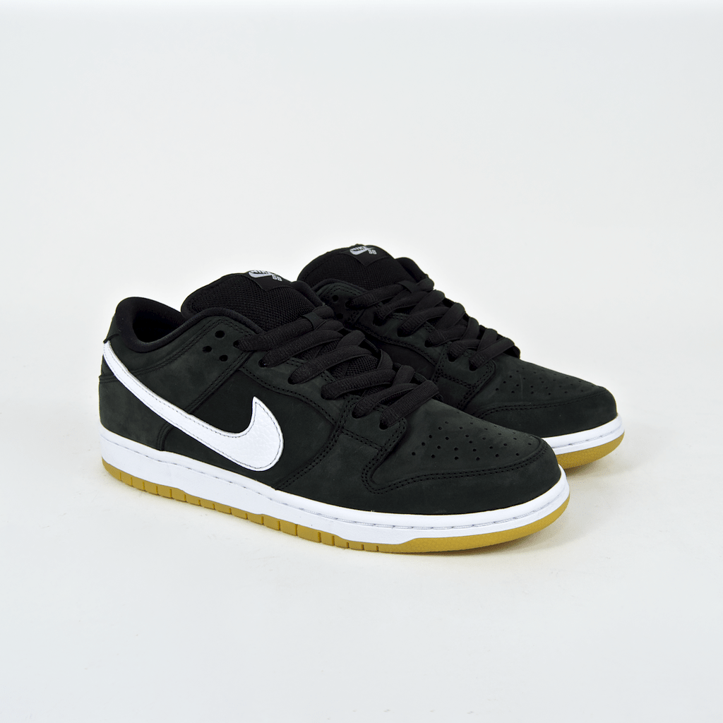 1dcd424bd120 ... Nike SB - Dunk Low Pro Orange Label ISO Shoes - Black   White   Black  ...