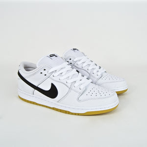 Nike SB - Dunk Low Pro Orange Label ISO Shoes - White / Black / Gum