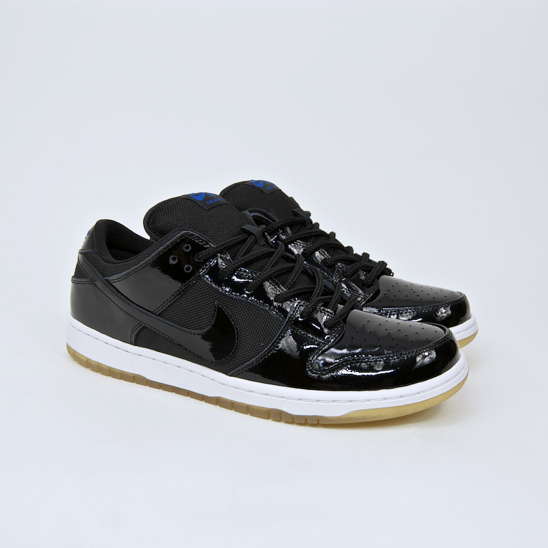 100% authentic 8eb69 078ba Nike SB - Dunk Low Pro SB 'Space Jam' Shoes - Black / Black ...