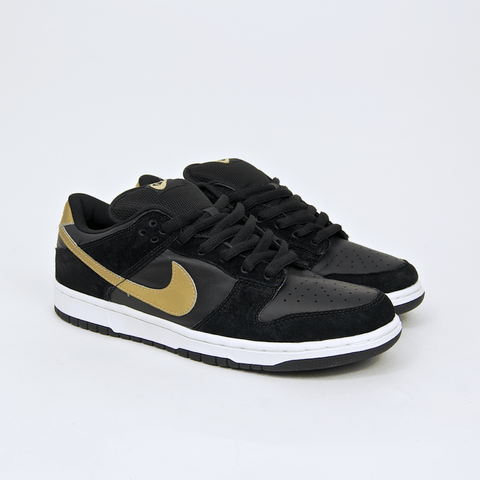 Nike SB - Dunk Low Pro SB 'Takashi' Shoes - Black / Metallic Gold - Black