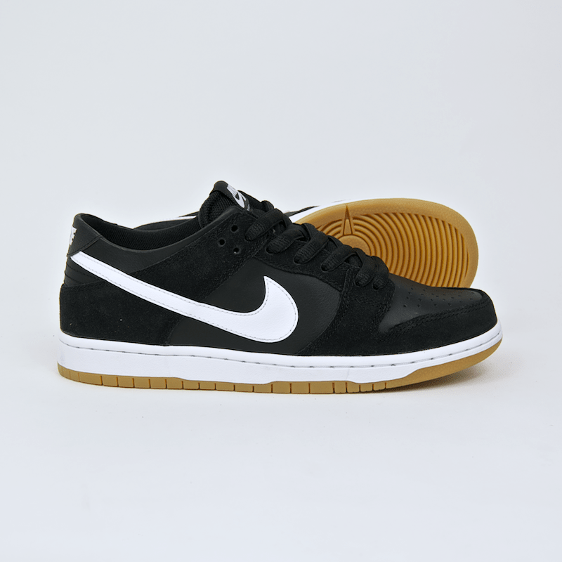 Nike SB - Dunk Low Pro Shoes - Black / White / Gum