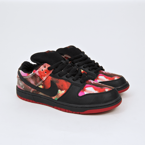 Nike SB - Dunk Low Pushead Shoes - Black / Black - Black