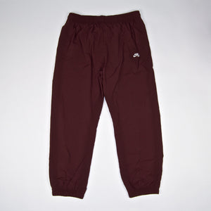 Nike SB - Flex Track Pants - Burgundy Crush / White