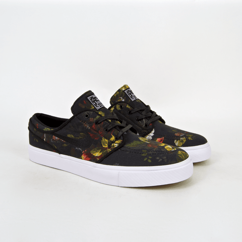 Nike SB - Floral Stefan Janoski Shoes - Multi-Colour / White / Black