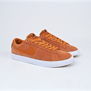 Nike SB - Grant Taylor GT Blazer Low Shoes - Cinder Orange / Obsidian