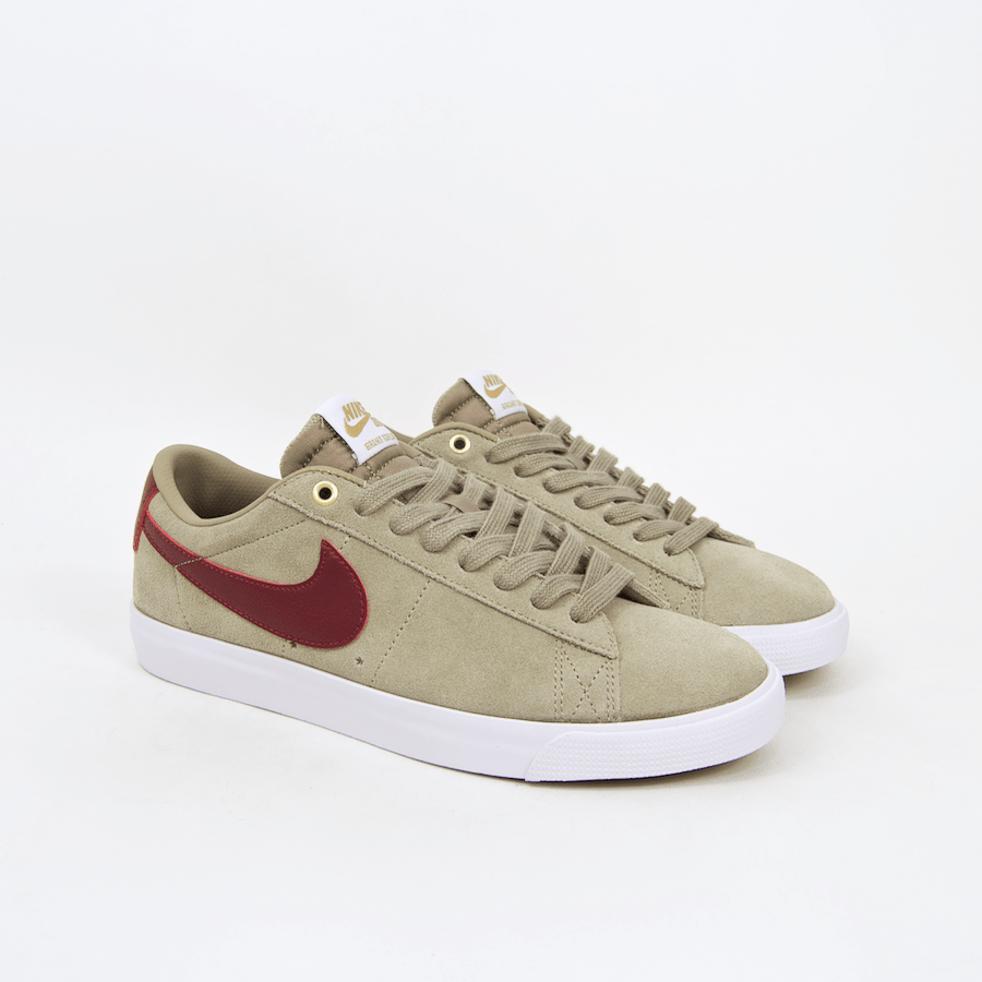 buy online bd66d f62a1 Welcome Skate Store Nike SB Grant Taylor Blazer Low Shoes Bamboo Team Red White 1.png v 1517791898
