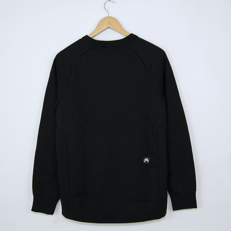 Nike SB - Icon Crew Sweatshirt - Black / White