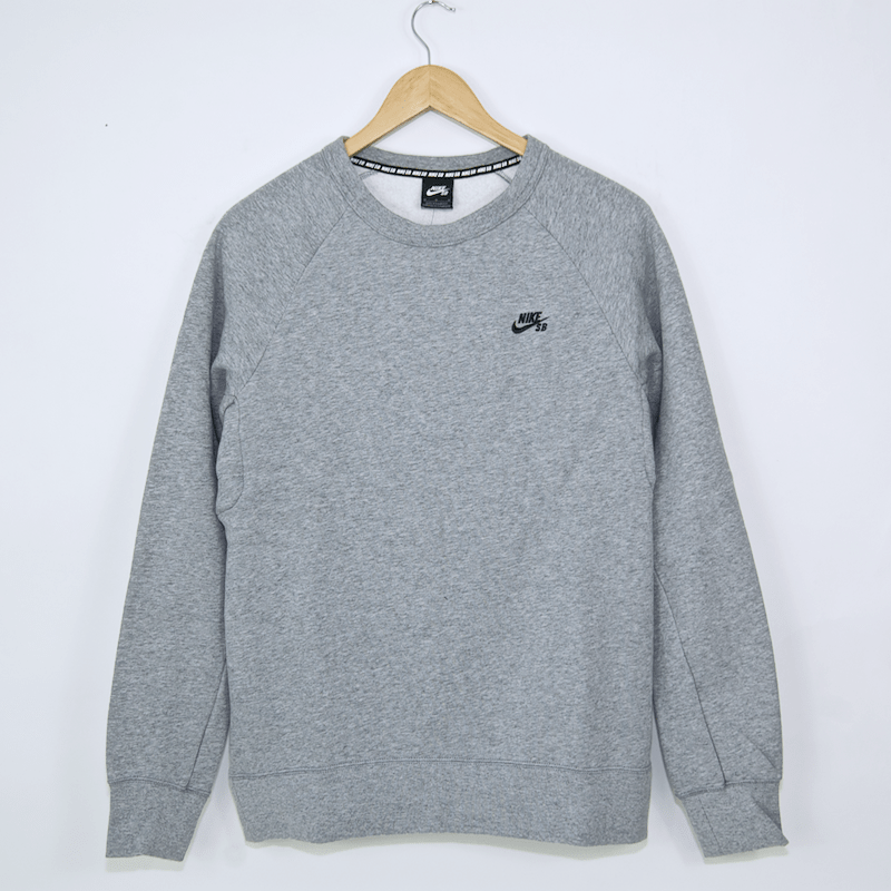 Nike Sb Icon Crewneck Sweatshirt Dark Grey Heather Black