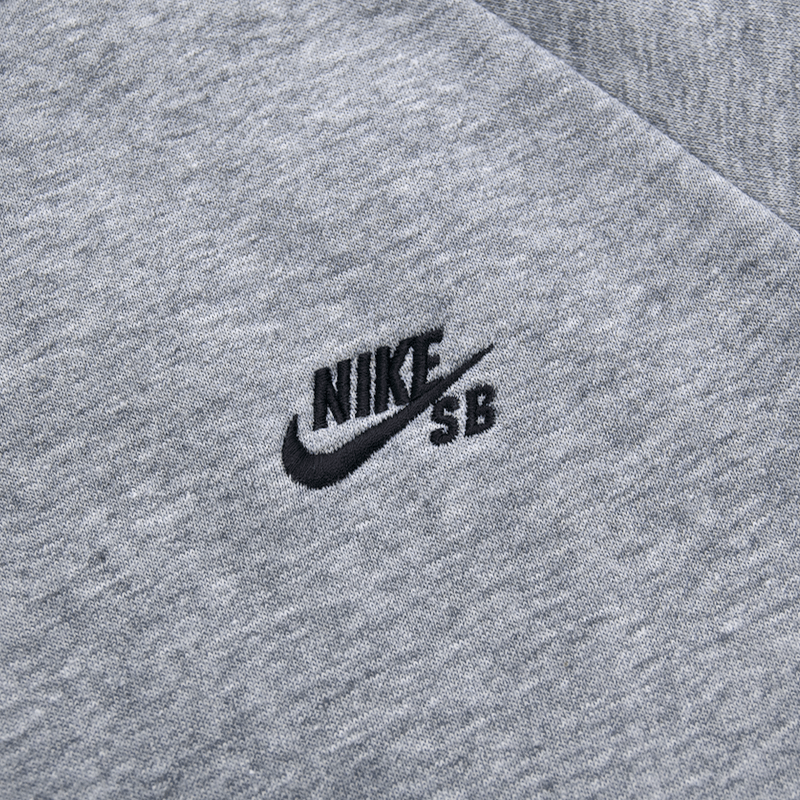 Nike SB - Icon Crew Sweatshirt - Dark Grey Heather / Black