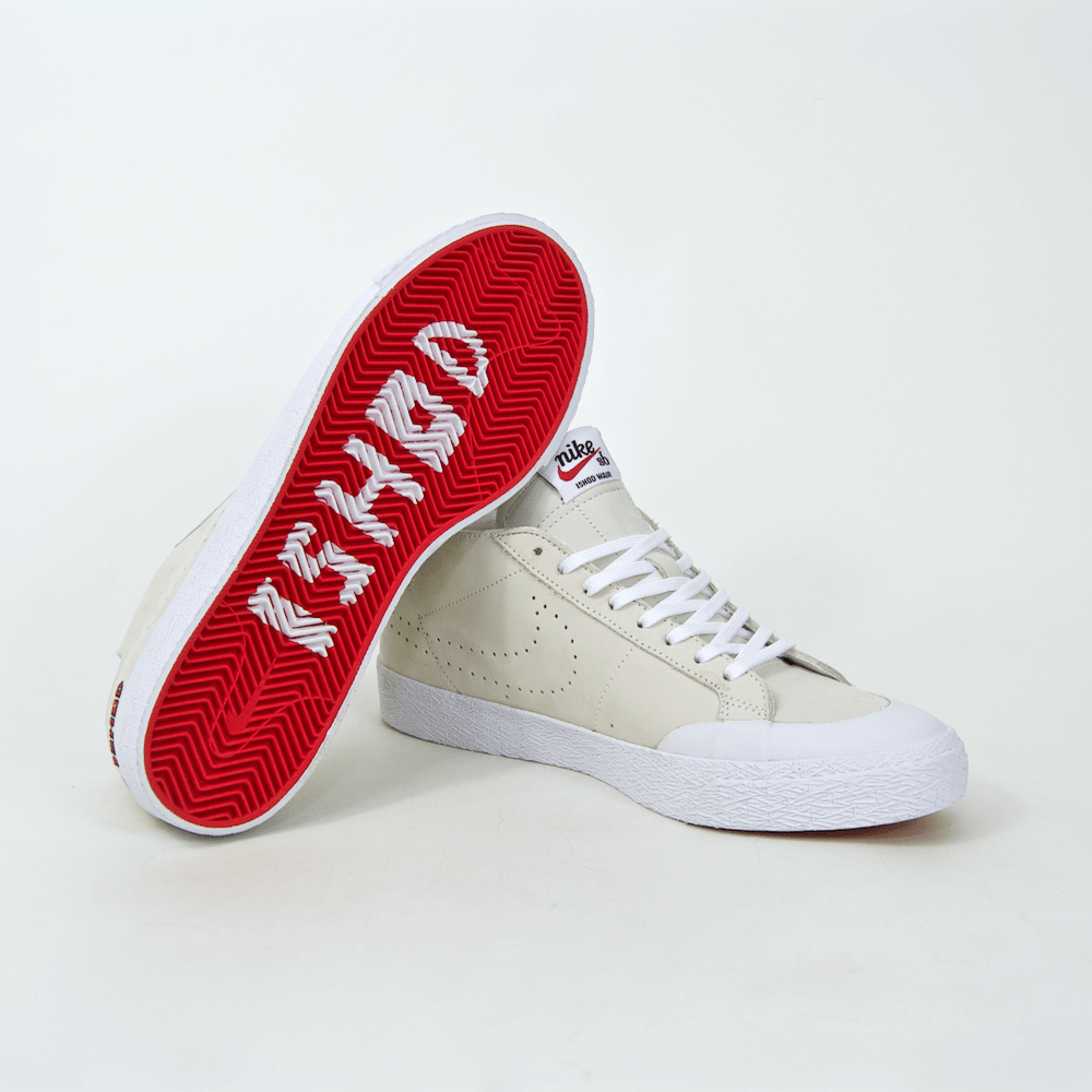 Nike SB - Ishod Wair Blazer Chukka XT Shoes - Sail / University Red / White / Black