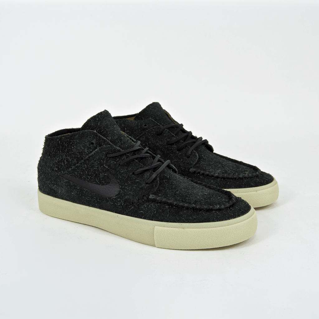 newest collection 16e75 9bacf ... Nike SB - Janoski Mid Crafted Shoes - Black  Golden Beige  Team Gold  ...