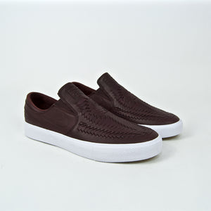 Nike SB - Stefan Janoski Slip-On Remastered Crafted Shoes - Mahogany / White / Gum