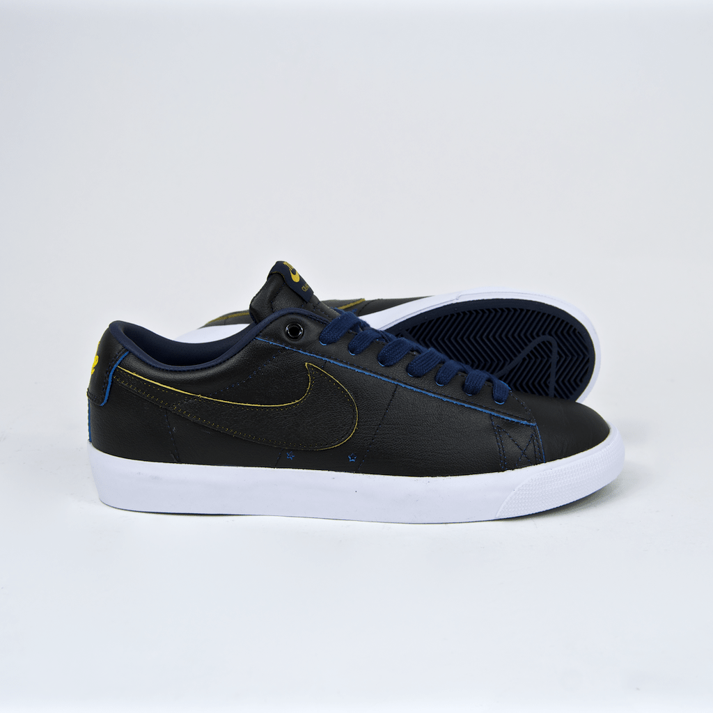 Nike SB - NBA Grant Taylor GT Blazer Low Shoes - Black / Amarillo Coast