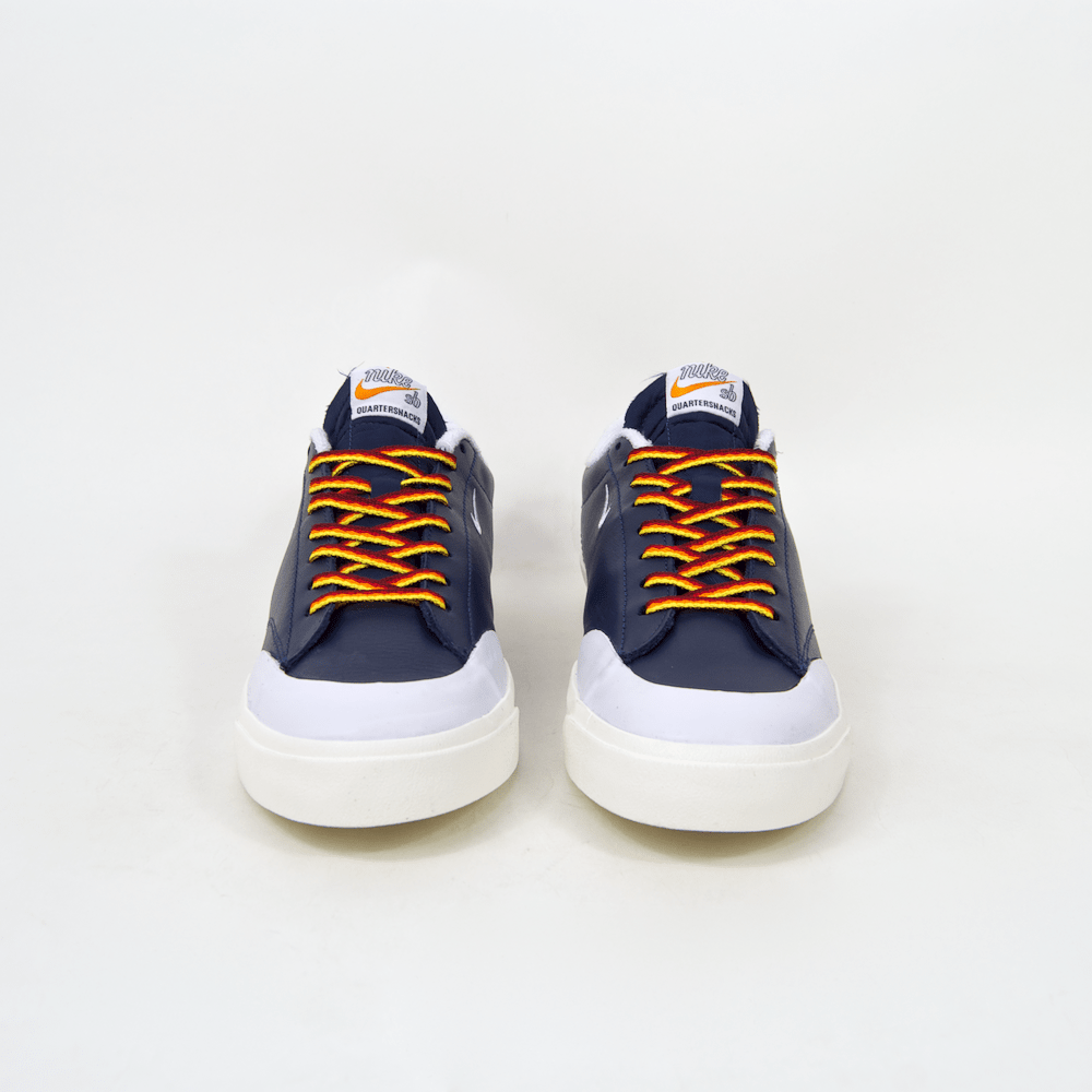 e6ed496af5a5 ... Nike SB - Quartersnacks Blazer Low XT Shoes (QS) - Navy   White ...