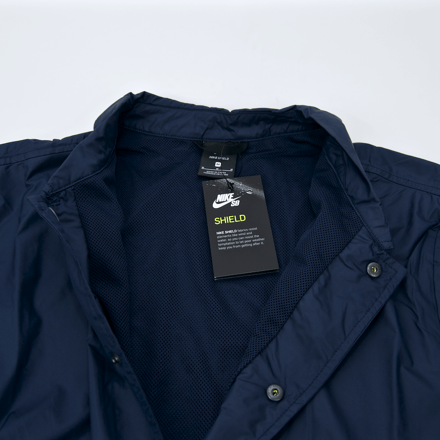Nike SB - Shield Coach's Jacket - Obsidian / Hydrogen Blue
