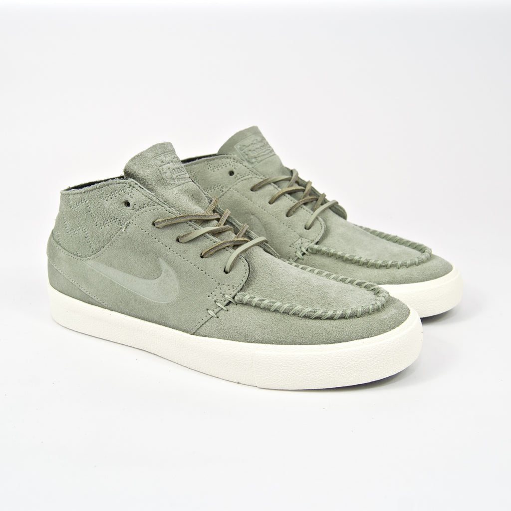 Nike SB - Stefan Janoski Mid Crafted Shoes - Jade Horizon / Black