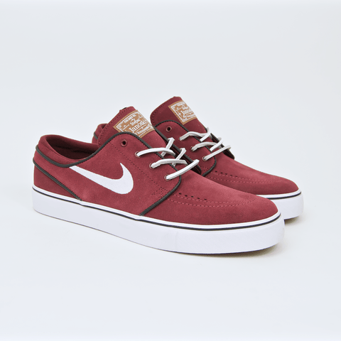 Nike SB - Stefan Janoski OG Shoes - Red Earth / White / Black / Gum