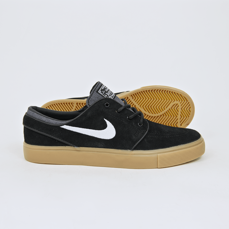 Nike SB - Stefan Janoski Shoes - Black / White / Gum