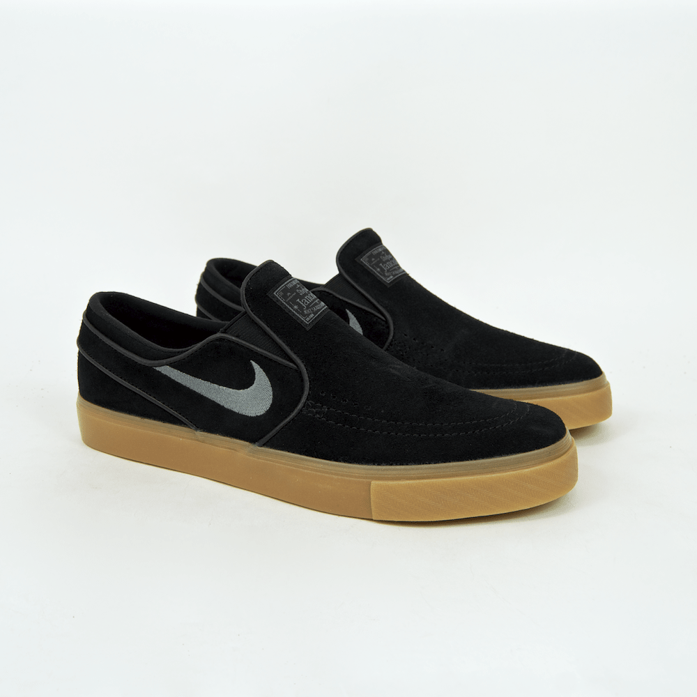 e7272997e ... Nike SB - Stefan Janoski Slip-On Shoes - Black   Gunsmoke   Gum ...