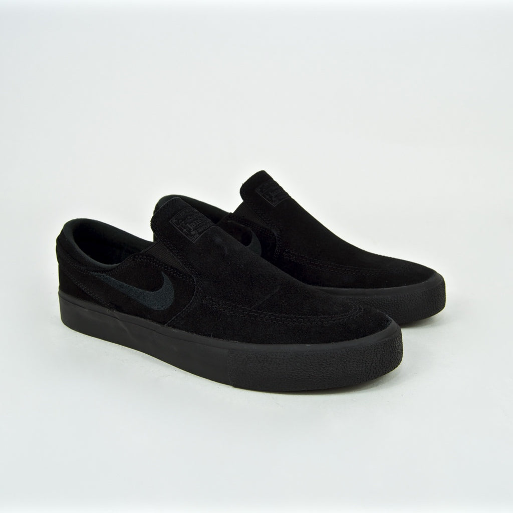 Nike SB - Stefan Janoski Slip On Remastered Shoes - Black / Black