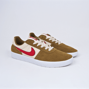 Nike SB - Team Classic Shoes - Golden Beige / University Red / Light Cream