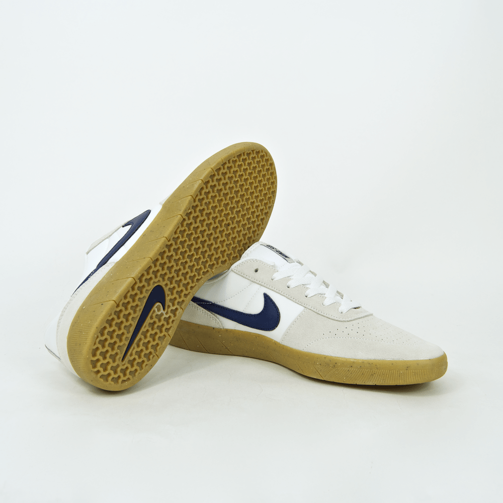 Nike SB - Team Classic Shoes - Summit White / Blue Void / White