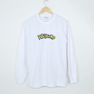 Welcome Skate Store - No-Go Longsleeve T-Shirt - White