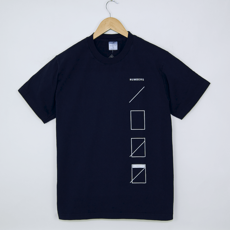 Numbers Edition - Assembly T-Shirt - Navy