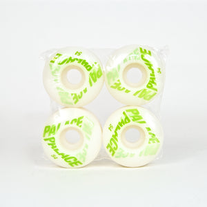 Palace Skateboards - 54mm Team (Neon Green) Skateboard Wheels