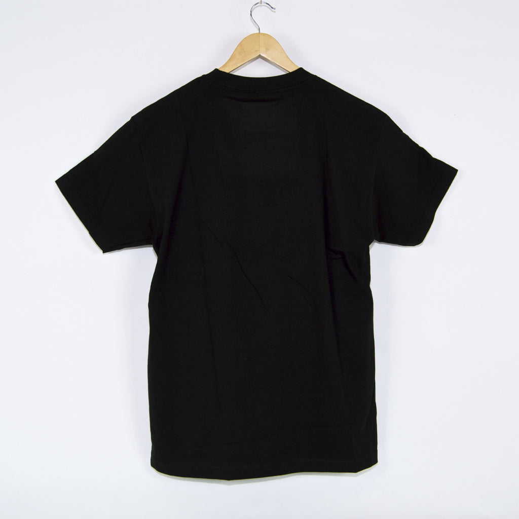 Pass Port Skateboards - Daffodil Applique T-Shirt - Black