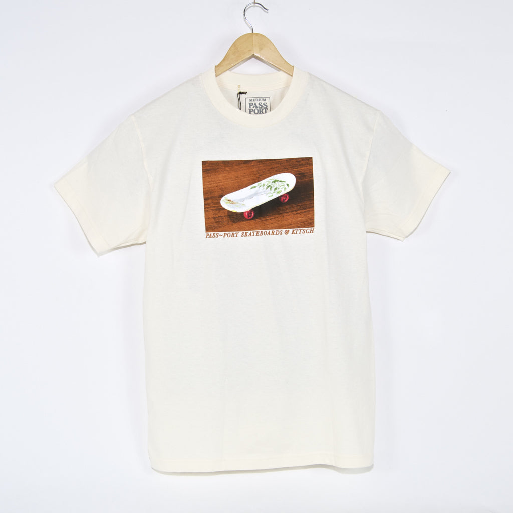 Pass Port Skateboards - Kitsch T-Shirt - Cream