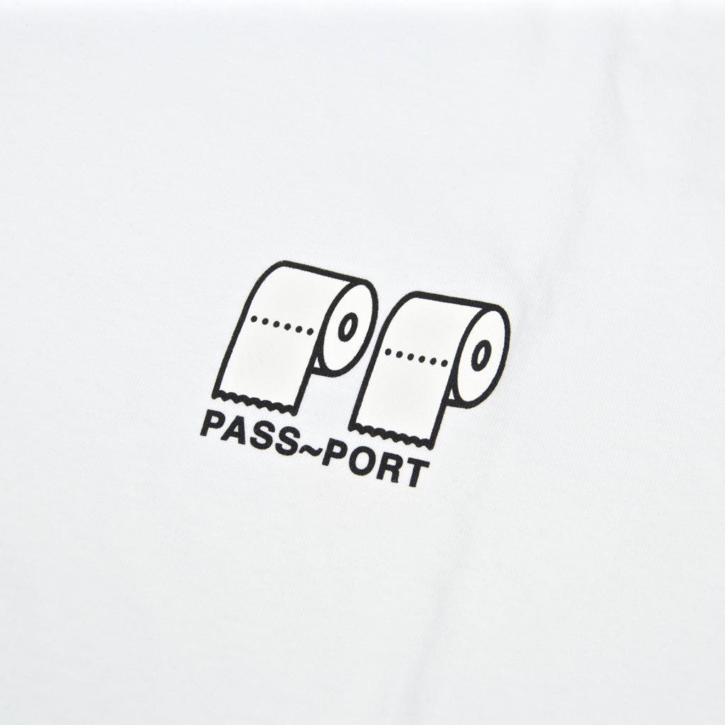 Pass Port Skateboards - Poo Poo T-Shirt - White