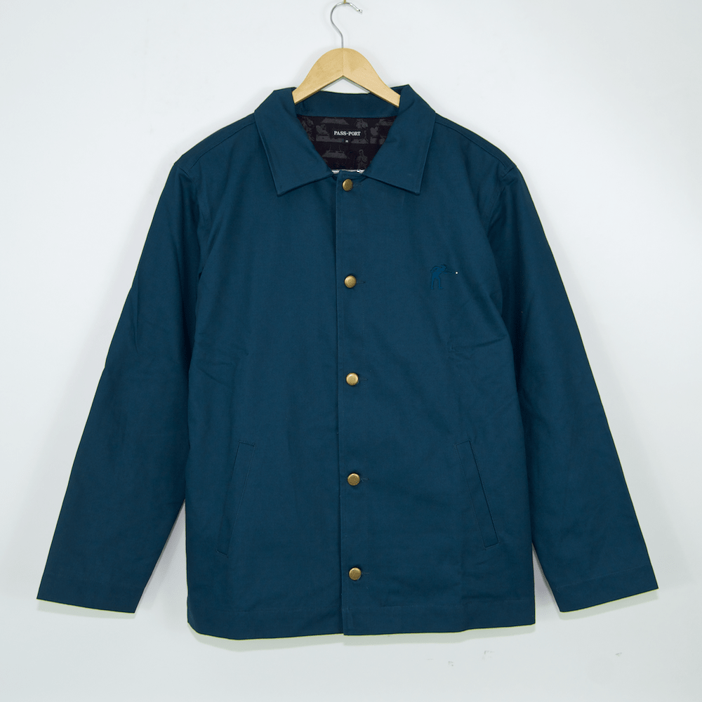 Pass Port Skateboards - Pool Workers Jacket - Ocean