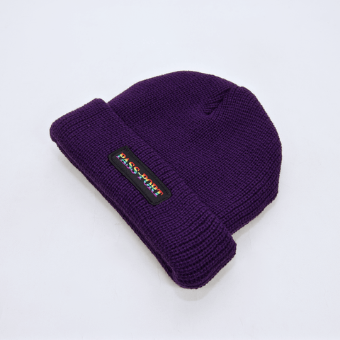 Pass Port Skateboards - Pride Official Beanie - Purple