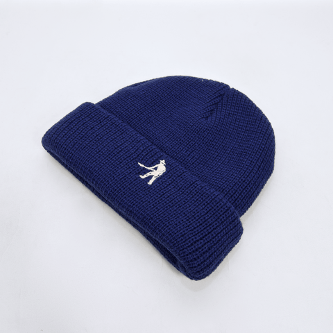 Pass Port Skateboards - Worker Beanie - Navy