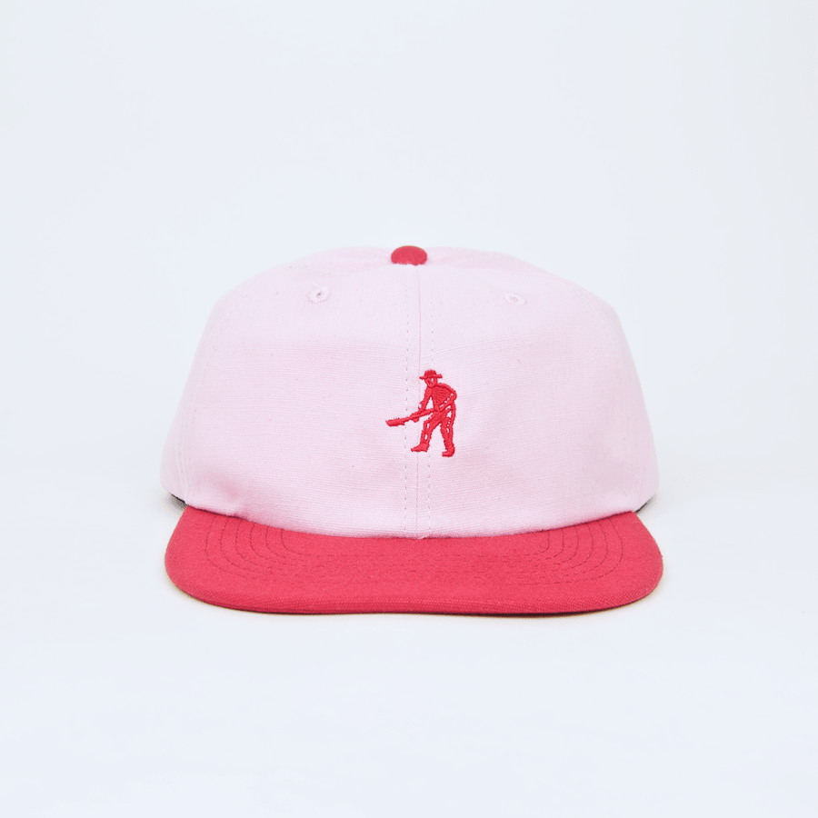 Pass Port Skateboards - Workers Tonal 6 Panel Cap - Pink