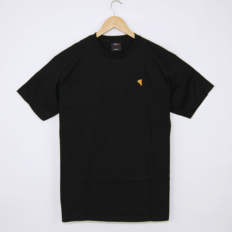 Pizza Skateboards - Emoji T-Shirt - Black
