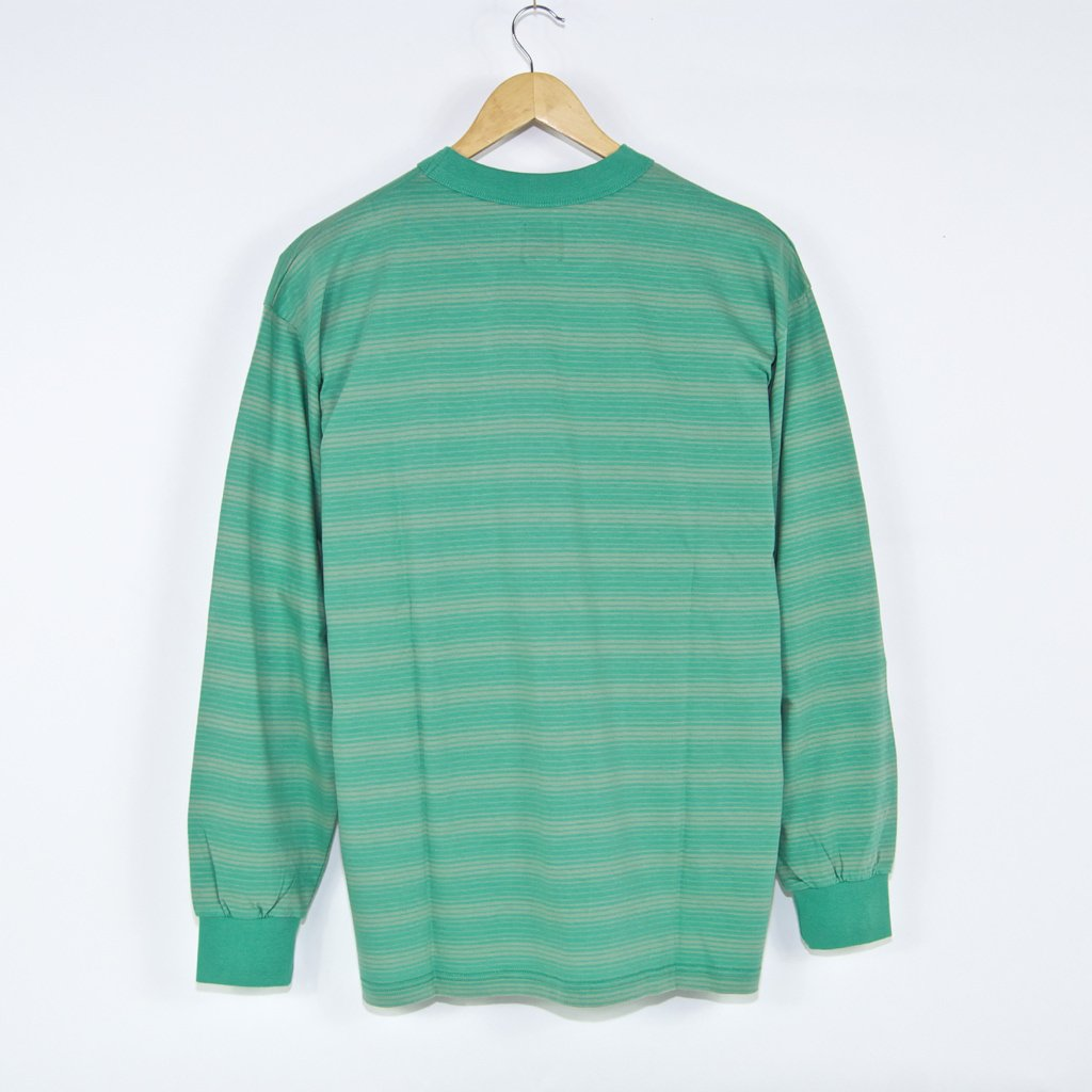 Polar Skate Co. - Gradient Stripe Longsleeve T-Shirt - Peppermint