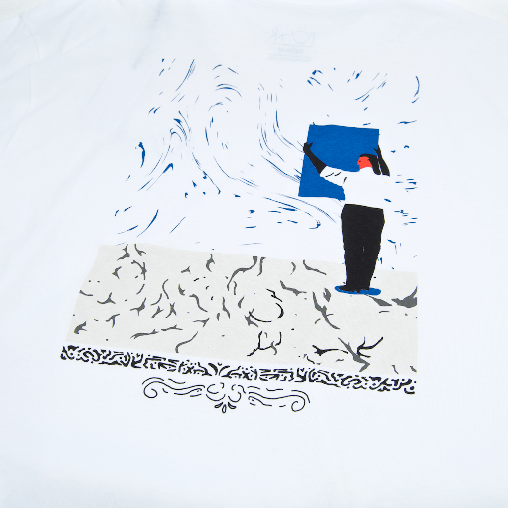 Polar Skate Co. - Hanging A Painting T-Shirt - White