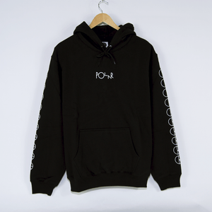 Polar Skate Co. - Racing Pullover Hooded Sweatshirt - Black
