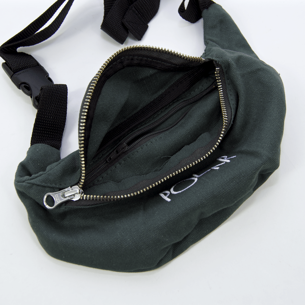 Polar Skate Co. - Script Logo Hip Bag - Grey Green