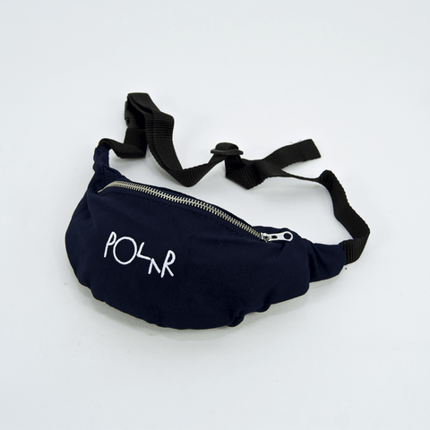 Polar Skate Co. - Script Logo Hip Bag - Navy