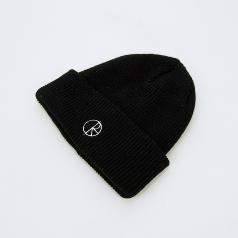 Polar Skate Co. - Stroke Logo Beanie - Black