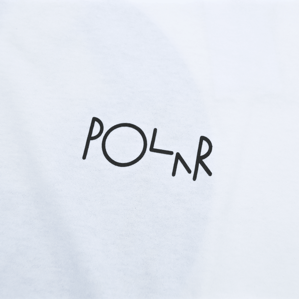 Polar Skate Co. - Torsten Fill Longsleeve T-Shirt - White