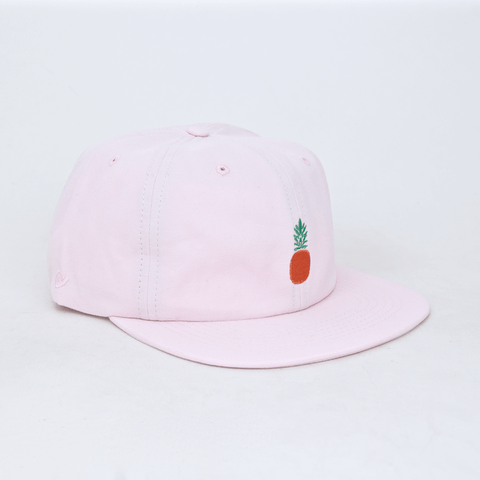 Post Details - Pineapple Six Panel Cap - Light Pink