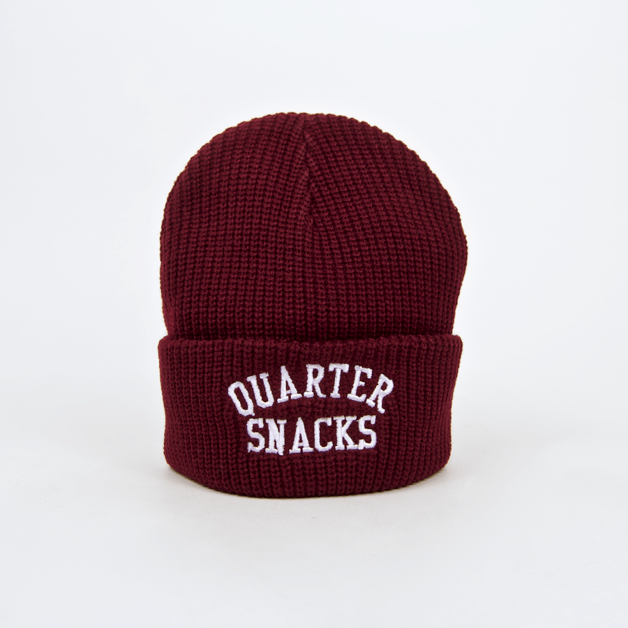 Quartersnacks - Arch Beanie - Burgundy